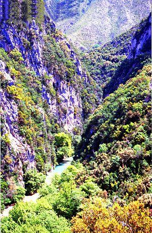 Η Χαράδρα του Αχέροντα από ψηλά 58221cf1b9e