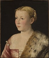 Active Venice, Italian - Portrait of a Lady, c. 1550, Cat. 226.jpg