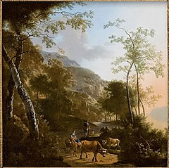 Landscape with Mule and Rider