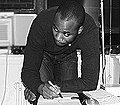 Ade Olufeko during in his Hollis Queens Studio 2008.jpg
