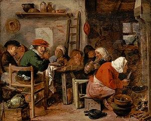 A Woman Making Pancakes