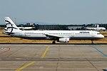 Aegean Airlines, SX-DGQ, Airbus A321-231 (44341897462).jpg