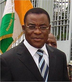 Ivorian presidential election, 2015 - Image: Affi 1