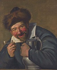 After Frans Hals - laughing man with a pipe and flagon.jpg