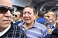 After a series of explosions rocked Cairo University friends and relatives grieve for the wounded or slain - Cairo 2-Apr-2014.jpg