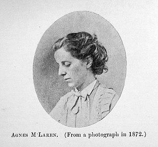 Agnes McLaren British doctor
