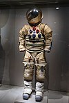 AiResearch Advanced Extra-Vehicular Suit, AiResearch - Garrett Corp., 1967 - Kennedy Space Center - Cape Canaveral, Florida - DSC02899.jpg
