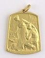 Aide et Apprentissage des Invalides de la Guerre 1914-1918 Section Brabançonne, medal by Jacques Marin (1877-1950), Belgium, 1916, Coins and Medals Department of the Royal Library of Belgium, 2Lef 104-41 (recto).jpg