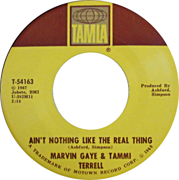 File:Ain't Nothing Like the Real Thing by Marvin Gaye and Tammi Terrell US vinyl.png