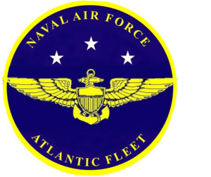 Naval Air Force Atlantic - AirLant logo from 1943-2001
