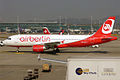 Air Berlin (operated by Belair), HB-IOR, Airbus A320-214 (16268989048).jpg