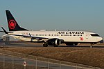 Air Canada Boeing 737-8MAX C-FTJV (40863227331).jpg