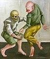 Akram Mutlak Tanz XX Öl auf Leinwand 80x70 2015.jpg
