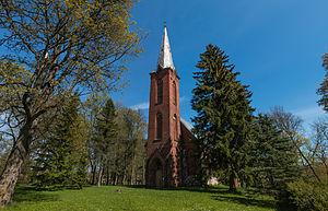 Otto Wilhelm Masing - Church of St. Andrew in Äksi (2015)