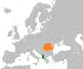Albania Romania Locator.png