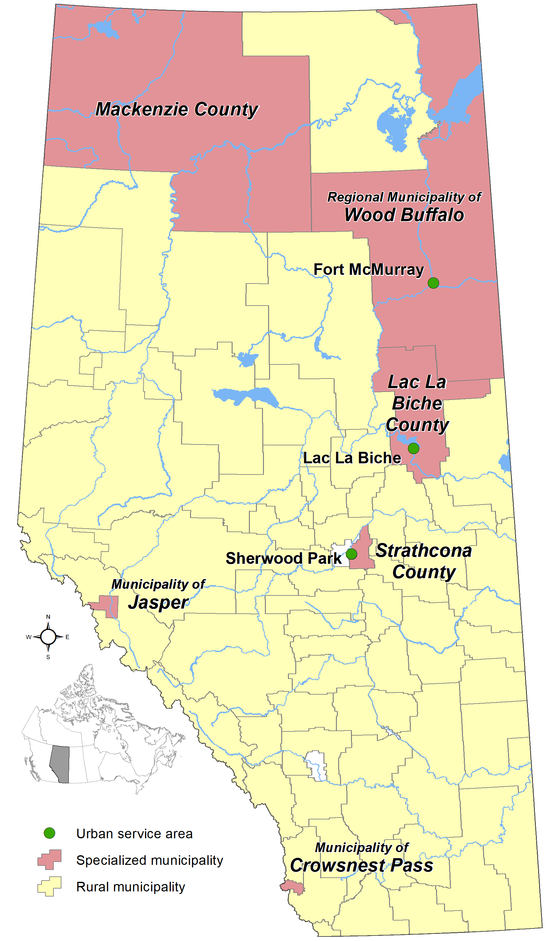 Alberta's Specialized Municipalities