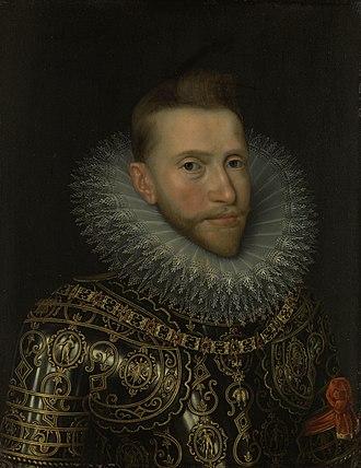 Frans Pourbus the Younger - Image: Albertus van Habsburg (1559 1621), aartshertog van Oostenrijk Rijksmuseum SK A 509