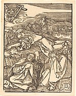 Albrecht Dürer, Christ on the Mount of Olives, probably c. 1509-1510, NGA 6788.jpg