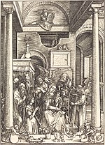Albrecht Dürer, The Glorification of the Virgin, c. 1504, NGA 6710.jpg