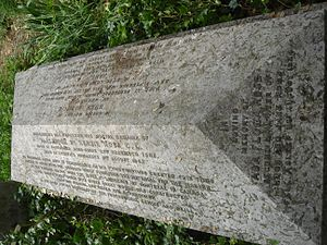 Alexander McKenzie Ross - Funerary monument, Brompton Cemetery, London