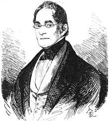 Alexander von Dusch Außenminister des Großherzogtums Baden Grafik von Carl August Reinhardt 1845 (Quelle: Wikimedia)