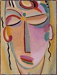 Mystischer Kopf: Meditation