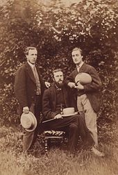 Alfred William Garrett, William Alexander Comyn Macfarlane and Gerard Manley Hopkins (left to right) by Thomas C. Bayfield 1866 Shown in the National ...