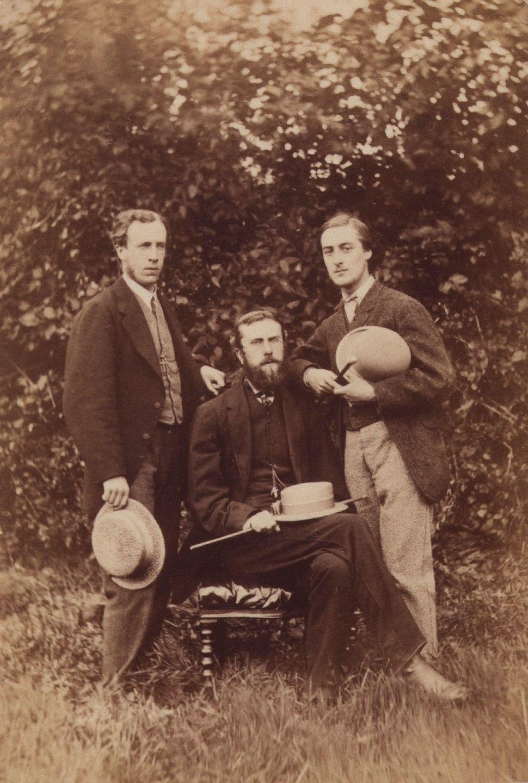 Alfred William Garrett; William Alexander Comyn Macfarlane; Gerard Manley Hopkins by Thomas C. Bayfield