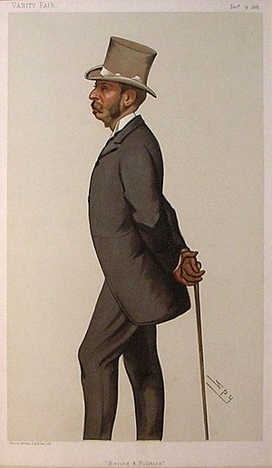 Algernon Greville, 2nd Baron Greville - Image: Algernon William Fulke Greville Vanity Fair 31 December 1881
