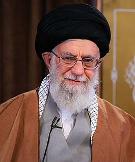 Ali Khamenei Iranian Shiite faqih, Marja and official independent islamic leader