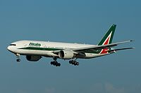 EI-DBK - B772 - Alitalia