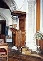 All Saints, Barrington - Pulpit - geograph.org.uk - 1150146.jpg