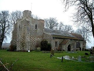 Chalgrave farm village in the United Kingdom