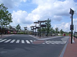 Almelo railway station - Image: Almelo busstation