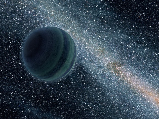 640px Alone in Space   Astronomers Find New Kind of Planet 新しい浮遊型惑星が地球から80光年の位置に発見される!