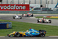Alonso + Barrichello + Villeneuve + Schumacher 2006 USA.jpg
