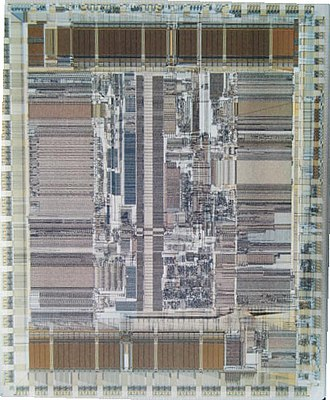 DEC Alpha - DEC Alpha AXP 21064 microprocessor die photo