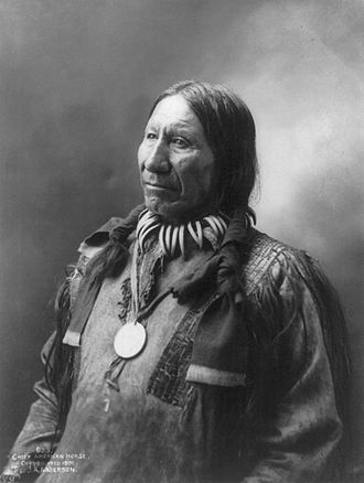 "Oglala - American Horse ""The Younger"""