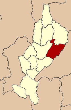 Amphoe location in Lampang Province