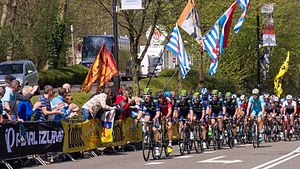 2015 Amstel Gold Race - Cauberg during the 2015 race