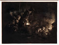 Amsterdam - Rijksmuseum - Late Rembrandt Exposition 2015 - The Adoration of the Shepherds - a Night Piece c.1652 B.jpg