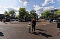 Amsterdam - Zwanenburgwal - Amstel - View on Spinoza Monument 2008 by Nicolas Dings.jpg