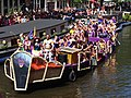 Amsterdam Gay Pride 2013 boat no37 Hot Spot Cafe pic7.JPG
