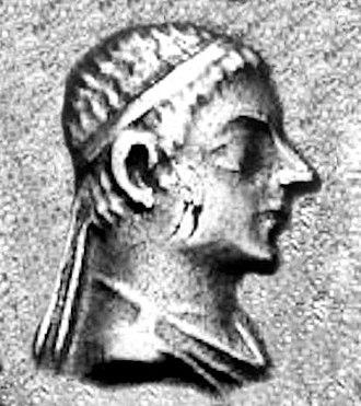 Amyntas Nikator - Portrait of young Amyntas