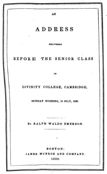 File:An address delivered before the senior class in Divinity College, Cambridge.djvu