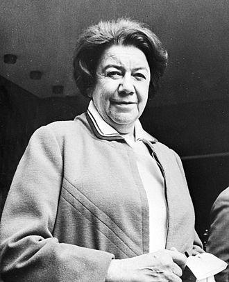 Ana Aslan - Ana Aslan in 1970