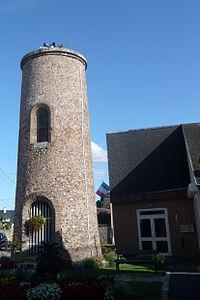 Ancienne éolienne, Chartainvilliers, Eure-et-Loir (France).JPG
