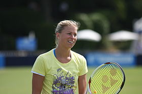 Andrea Hlavackova Aegon International Eastbourne 2011.jpg