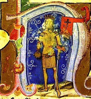 Andrew II of Hungary - Andrew II depicted in Illuminated Chronicle