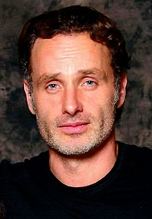 Andrew Lincoln 2014.